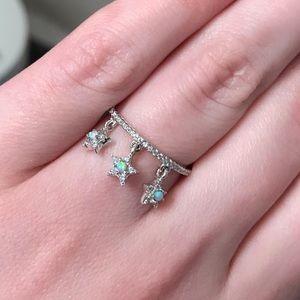 Charmed Aroma SS.925 Moonlight Blue Opal Ring!